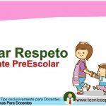 Como ganarse el respeto de los alumnos Preescolar