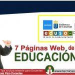 Las 7 Mejores Paginas Web de Educación