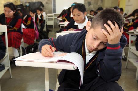 Problemas de lectoescritura en niños de primaria