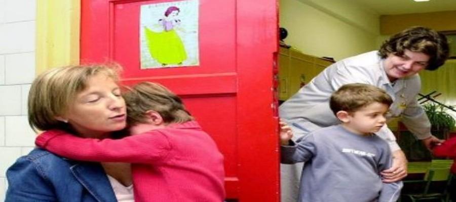 Qué hacer cuando un niño llora en la escuela