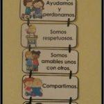 ideas de decoracion para salon de preescolar sobre los valores 3 150x150 - Decoracion de salones de preescolar