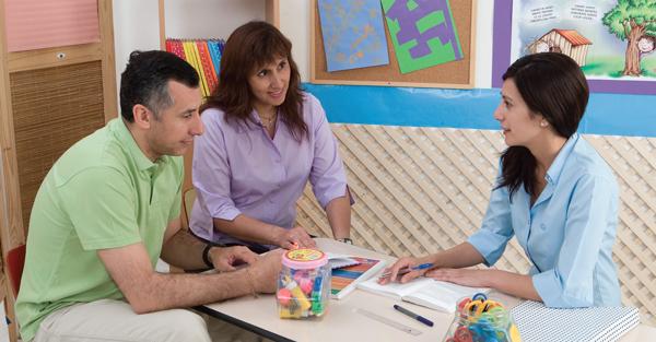 Trabajo colaborativo entre padres y maestros