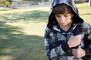 Adolescente tímido