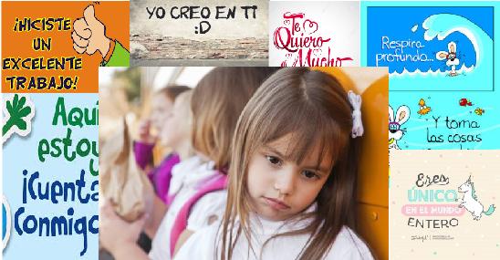 FRASES PARA MEJORAR LA AUTOESTIMA EN LOS NIÑOS DE PREESCOLAR