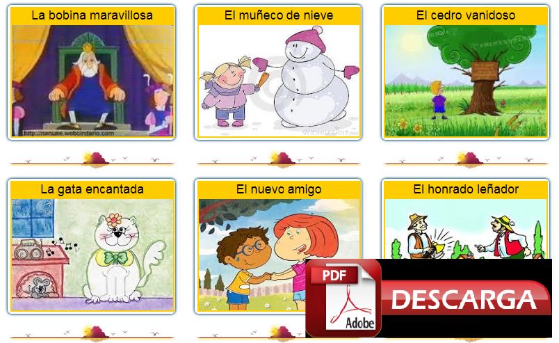 Lecturas para el primer día de clases – Kínder – Preescolar – Inicial - PDF