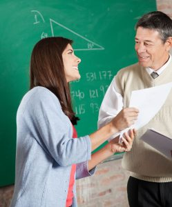 Profesores que se involucran con sus Estudiantes