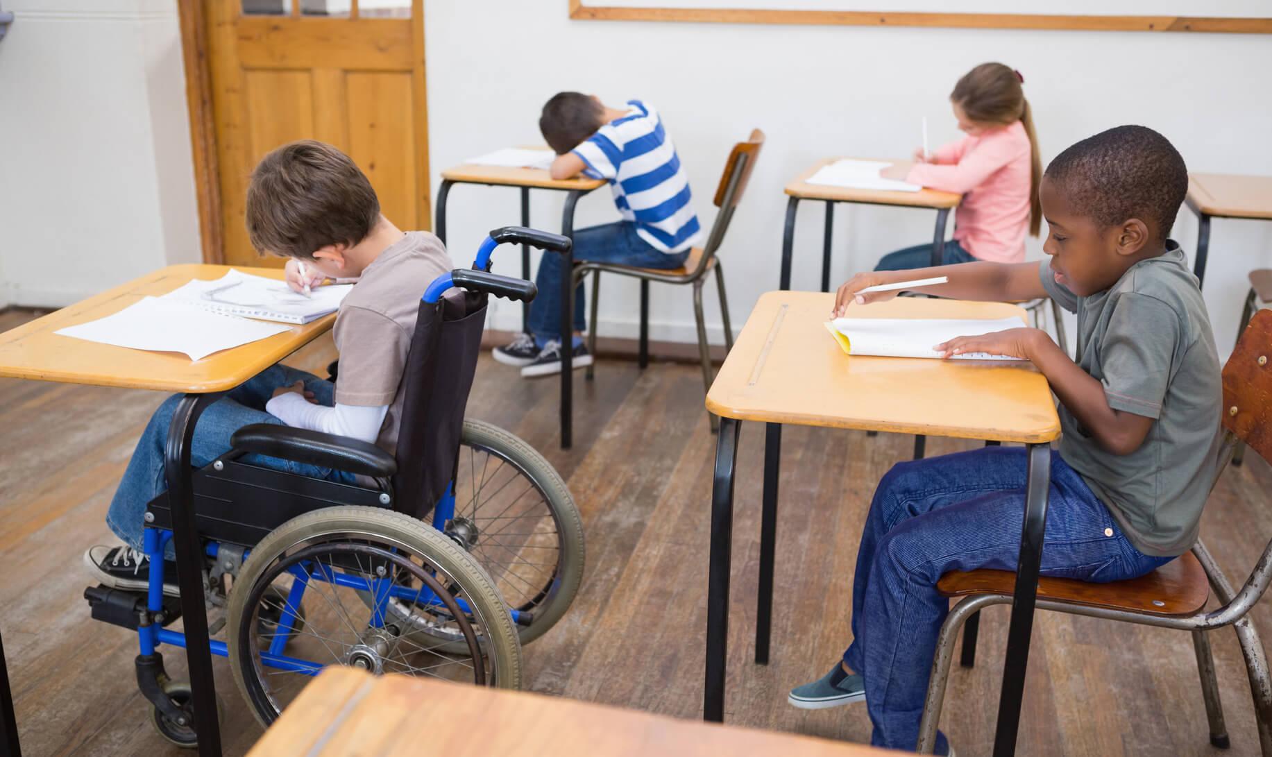 discriminación en la escuela
