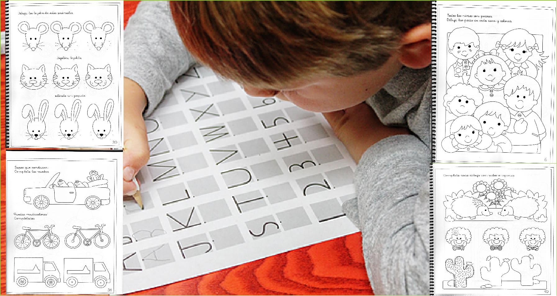 50 Actividades De Coordinación Visomotora Para Niños