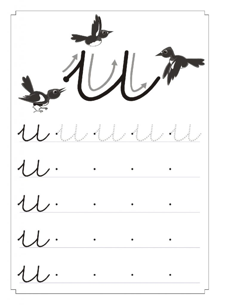 Cuadernillo Completo Y Didáctico Para Trabajar Las Vocales 45 791x1024 - Como Enseñar a Niños de Preescolar las Vocales - ¡Divertido!