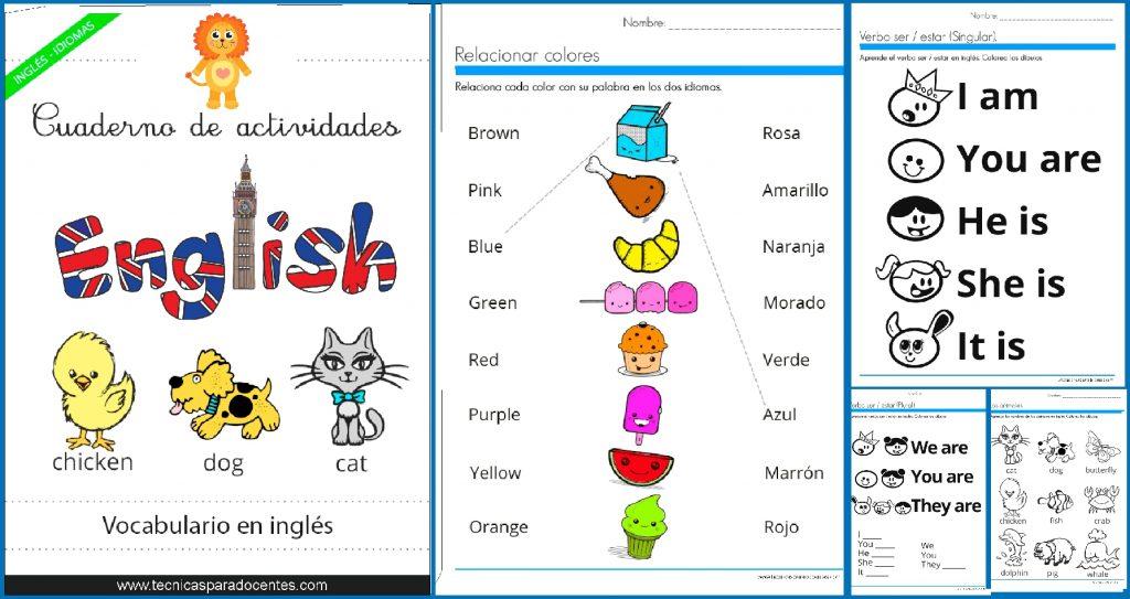 Pdf Excelente Cuadernillo De Ingles Para Niños
