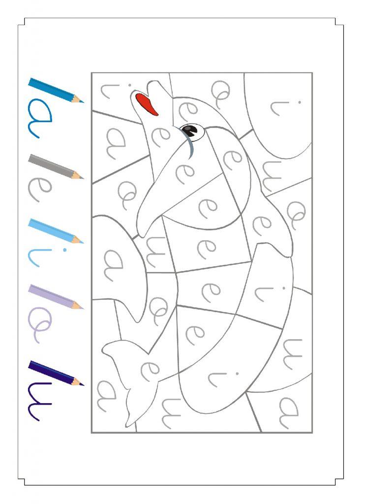 El Mejor Cuadernillo de Actividades para Ensenar Las Vocales a Los Ninos 052 791x1024 - Como Enseñar a Niños de Preescolar las Vocales - ¡Divertido!