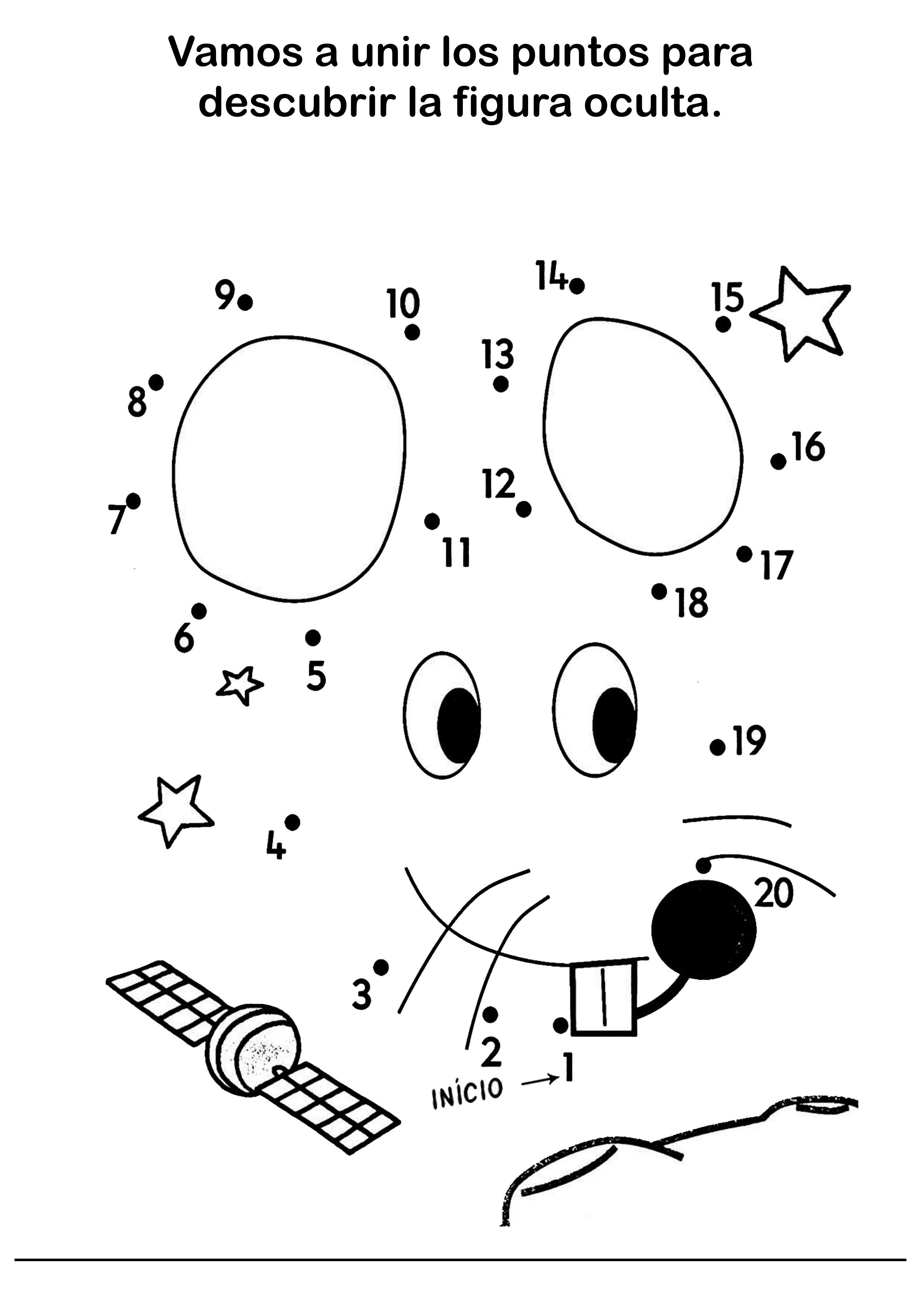 Fichas De Dibujos Unir Puntos Para Niños 23 Fichas Gratis Pdf