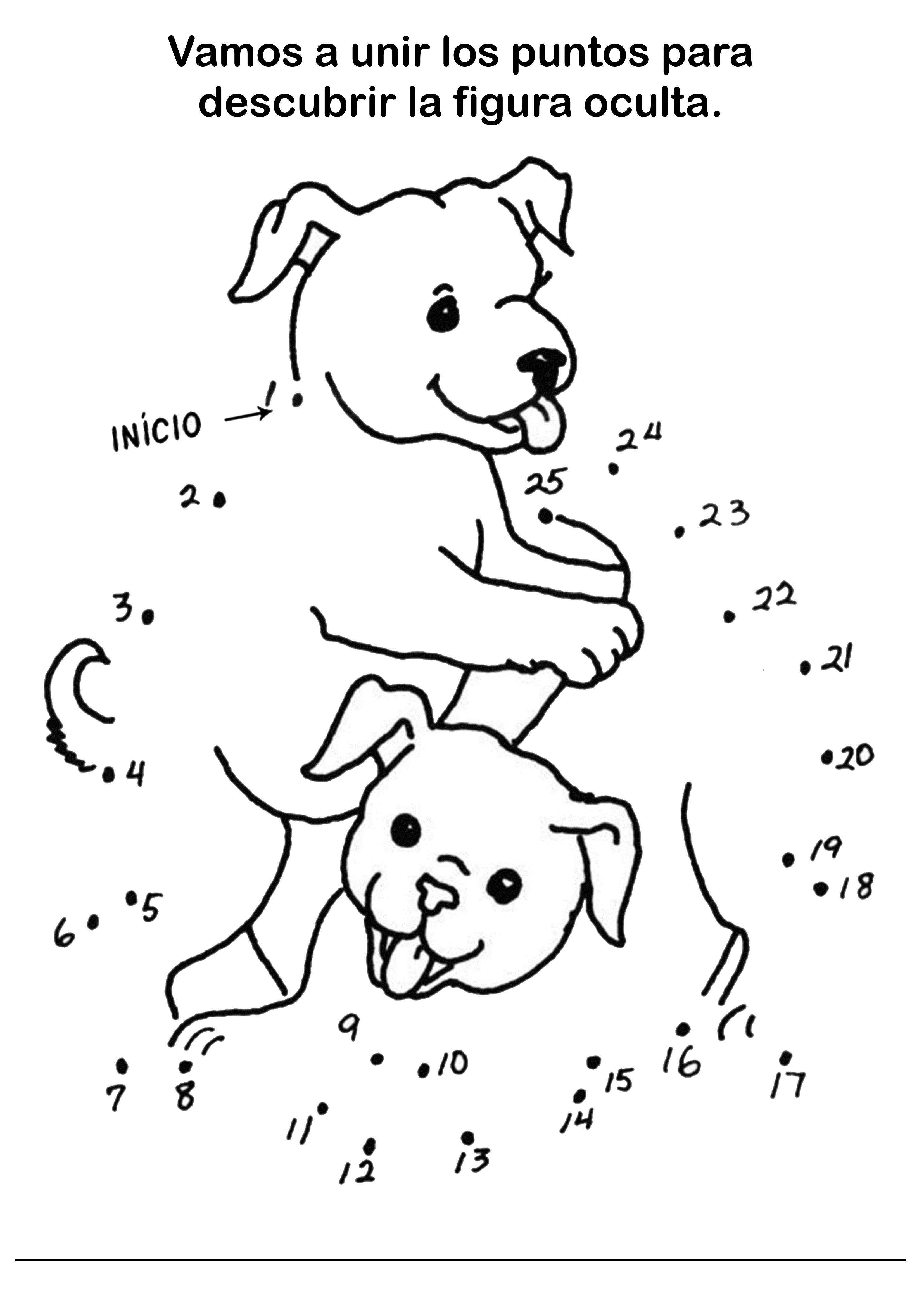 ▷ Fichas De Dibujos - Unir Puntos Para Niños – 23 Fichas Gratis PDF