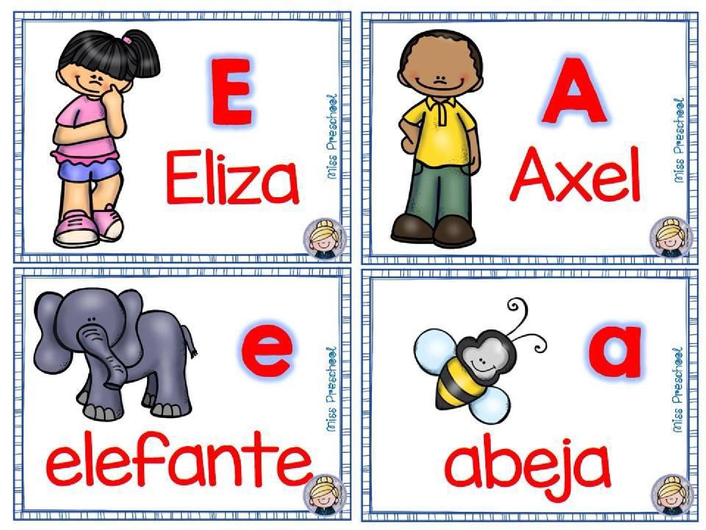 Material para Trabajar la Lectoescritura y Las Vocales 006 - Como Enseñar a Niños de Preescolar las Vocales - ¡Divertido!