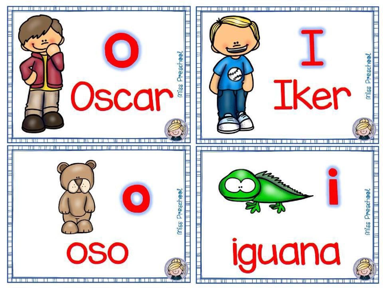 Material para Trabajar la Lectoescritura y Las Vocales 007 - Como Enseñar a Niños de Preescolar las Vocales - ¡Divertido!