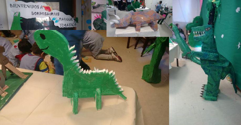 Parque temático Bordosaurius creado por Niños