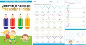 cuadrnillo variado de actividades para preescolar einicial