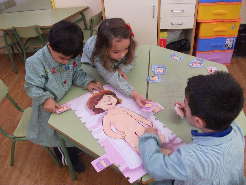 Cómo enseñar en preescolar las partes del cuerpo 1024x768 - ¿Cómo enseñar en preescolar las partes del cuerpo?