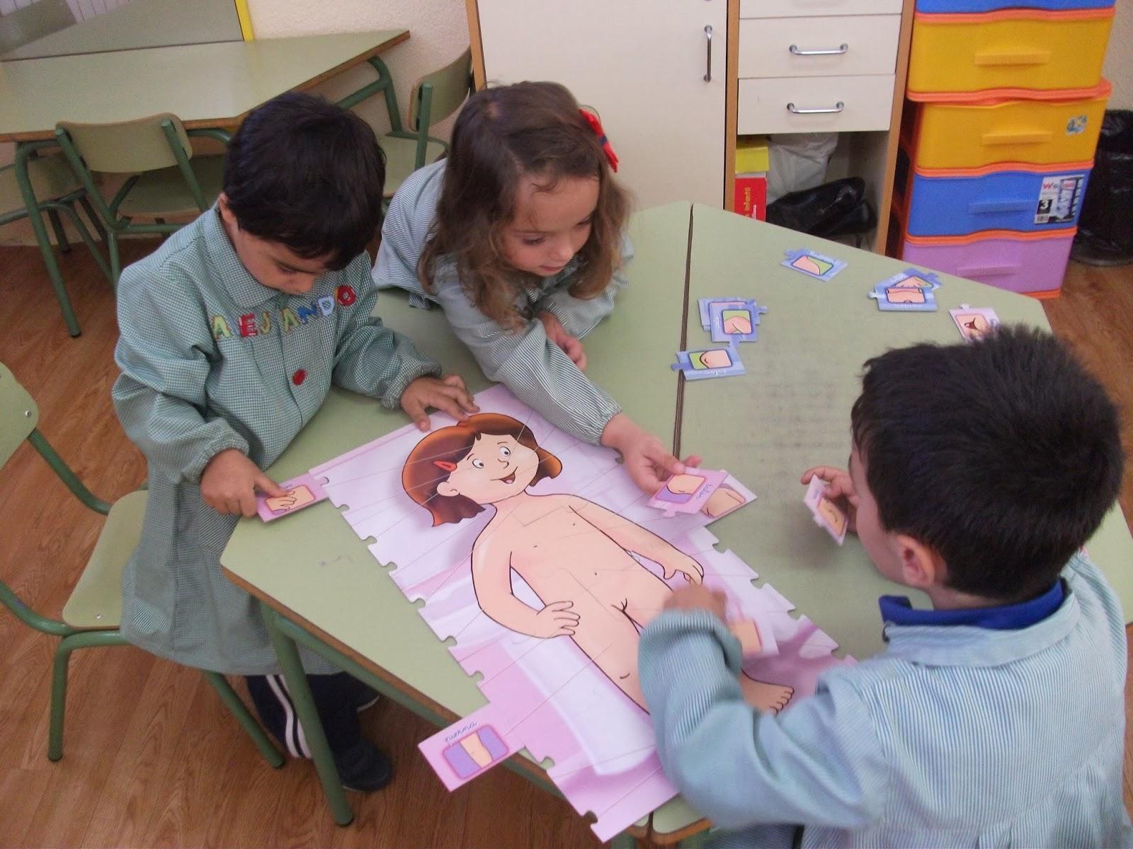 ▷ ¿Cómo enseñar en preescolar las partes del cuerpo?
