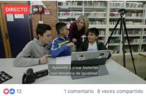 Emplear Facebook Live para comunicar algo