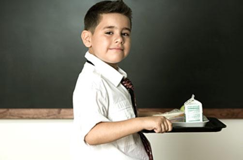Qué tipo de alimentos deben incluirse en la dieta de un niño en edad escolar