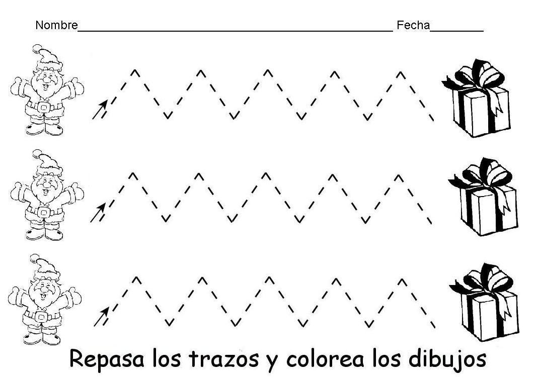 Dibujos Colorear Ninos 4 Anos: [PDF] Ejercicios De Grafomotricidad Para Niños De 3 A 4 Años