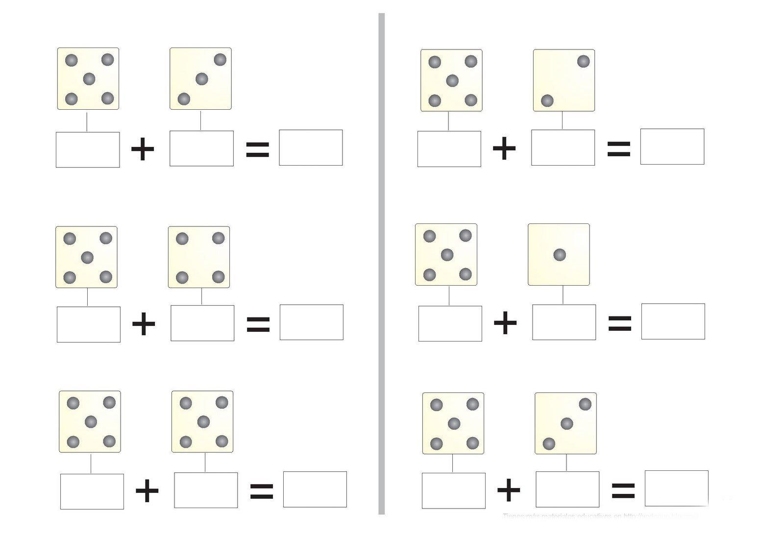 Pdf ejercicios de sumas para ni os de preescolar for Equipo mayor y menos de la cocina pdf