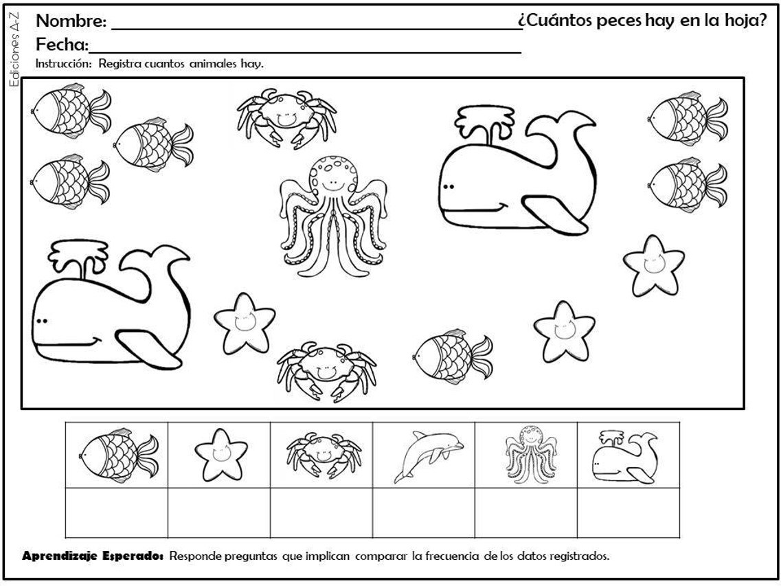 [PDF] Fichas De Pensamiento Matemático Para Preescolar