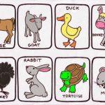 animales2 150x150 - ¿Qué enseñar en Ingles a Niños de Primaria? 10 Temas Básicos