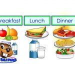 comida1 1 150x150 - ¿Qué enseñar en Ingles a Niños de Primaria? 10 Temas Básicos