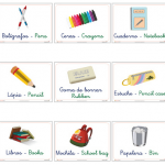 objetos7 150x150 - ¿Qué enseñar en Ingles a Niños de Primaria? 10 Temas Básicos