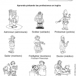profesiones 150x150 - ¿Qué enseñar en Ingles a Niños de Primaria? 10 Temas Básicos