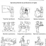 profesiones1 150x150 - ¿Qué enseñar en Ingles a Niños de Primaria? 10 Temas Básicos