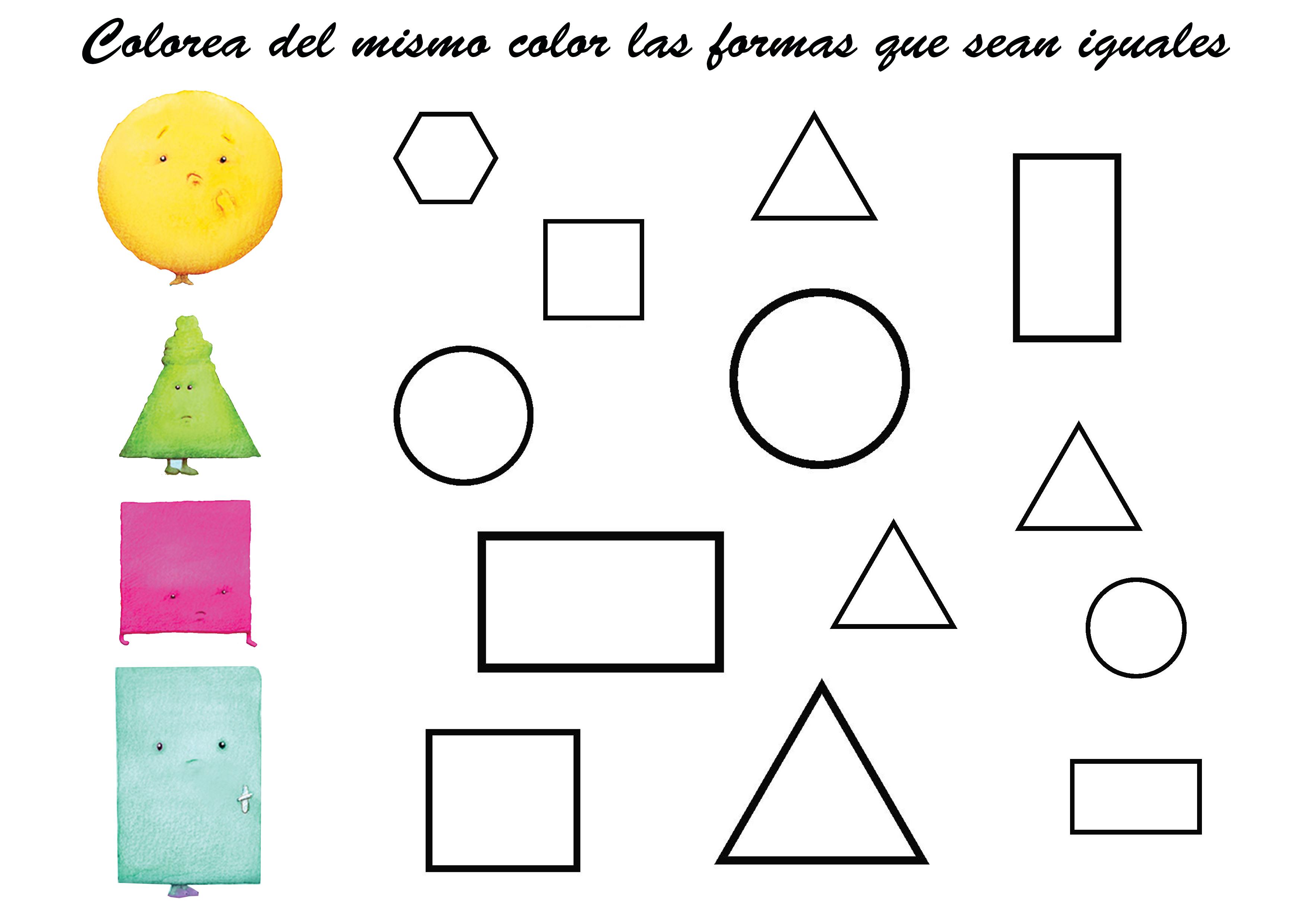Cómo Enseñar En Preescolar Las Figuras Geométricas Técnicas Para