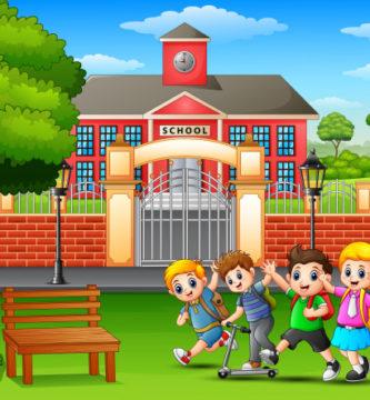 jugar fuera colegio